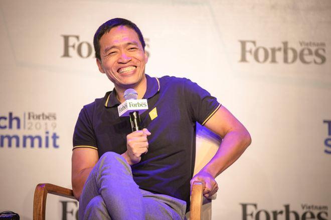 Lê Hồng Minh chia sẻ tại Forbes Tech Summit 2019